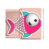 The Colorful Vector Big-Eyed Fish Skin Set for the Apple iPad Pro