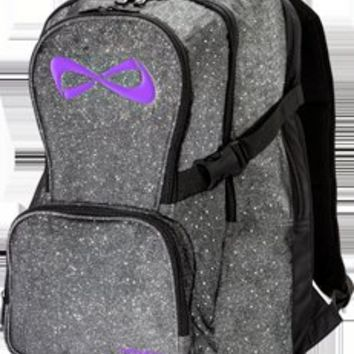 Nfinity Athletic Corporation - Sparkle Backpack with Violet Logo