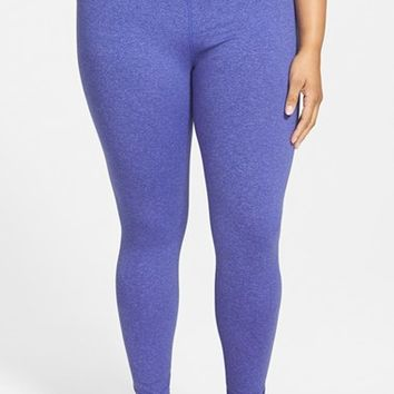 Plus Size Women's Zella 'Live In' Slim Fit Reversible Leggings