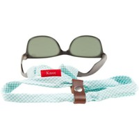 GINGHAM SUNGLASS STRAPS IN SEAFOAM GREEN BY KNOT CLOTHING & BELT CO.