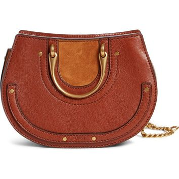 Chloé Micro Pixie Leather Top Handle Satchel | Nordstrom
