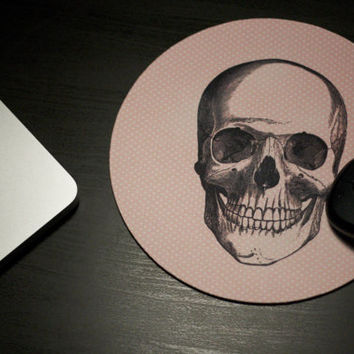 Create your own Skull Mousepad! What do you get the person who has everything? This:)