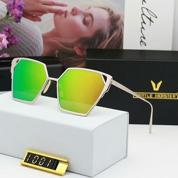 Gentle Monster  Fashion New Polarized More Color Couple Travel Sunscreen Glasses Eyeglasses