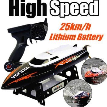 Hot Sale UDI 001 Udi001 RC Speedboat Tempo Power Venom 2.4G Remote Control Boat with Auto Rectifying Deviation Direct Function