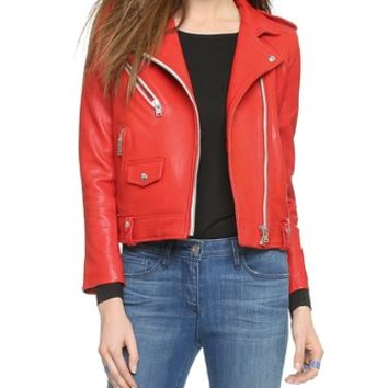 IRO Zayone Leather Jacket