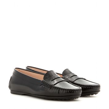 tod's - patent leather loafers