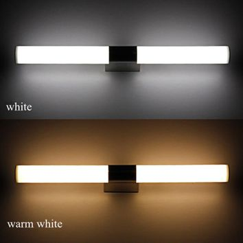 10W/14W Bathroom SMD LED Mirror Wall Light Cold /Warm White LED Modern Indoor Wall Mounted Wall Lamps Night Light Home Fixture