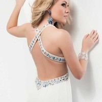 Jasz Couture 4830 at Prom Dress Shop