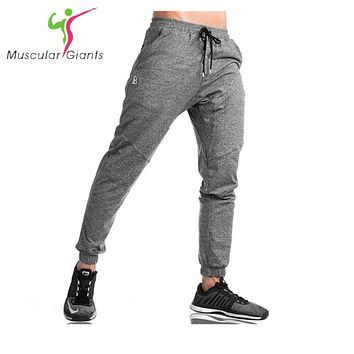 2017 NEW sweatpants Men's gasp workout gyms clothing casual camouflage sweatpants joggers pants skinny trousers hot M-XXL