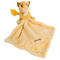 Simba Plush Blankie for Baby - Personalizable