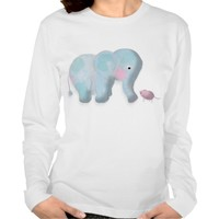 Cute Illustration fine Jersey Long Sleeve T-Shirt