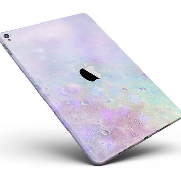 """The Tie-Dye Cratered Moon Surface Full Body Skin for the iPad Pro (12.9"""" or 9.7"""" available)"""