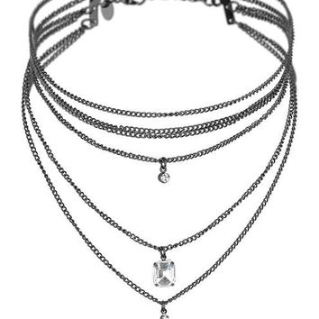 Layered Choker - Chokers - Accessories