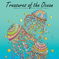 Adult Coloring Book, Printable Coloring Pages, Coloring Book for Adults, Adult Coloring Page, Instant Download, TREASURES of the OCEAN