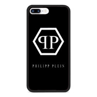 Top Luxury Philipp Plein.4US Logo Fit Hard Case For iPhone 6 6s 7 8 Plus X Cover