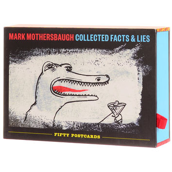 Mark Mothersbaugh Set of 50 Postcards