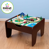 Kidkraft Espresso Two In One Activity Table Lego Compatible
