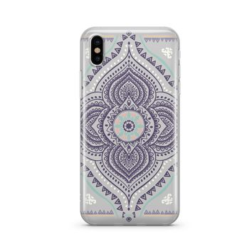 Opulent Mandala - Clear TPU Case Cover