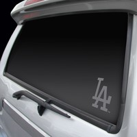 Los Angeles Dodgers Chrome Window Graphic Decal