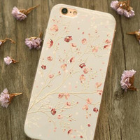 Fashion embossed mobile phone case for Iphone 6 6s 6Plus 6s Plus,nice gift box