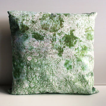 decorative cushion MOONSCAPE moon lunar  map by mybeardedpigeon