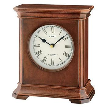 Seiko Desk and Table Clock - 12 Melodies & Chime - Wooden Case