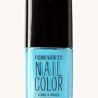 Candy Blue Nail Polish