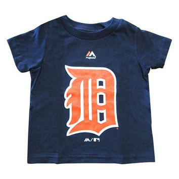 Tigers S/S Tee TOD 4C4NMK - Navy