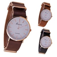 2017 branded ladies watches cheap watches for women dress watch ladies black leather watch womens montre bracelet femme