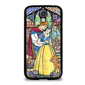 SNOW WHITE ART GLASSES Disney Samsung Galaxy S4 Case Cover