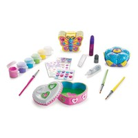 Melissa & Doug Decorate-Your-Own Favorite Things Craft Set (White)