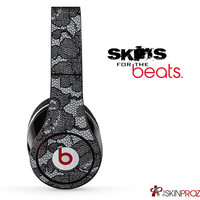 Black Laced Skin For The Beats by Dre Studio, Solo, Pro, Mix-R or Wireless
