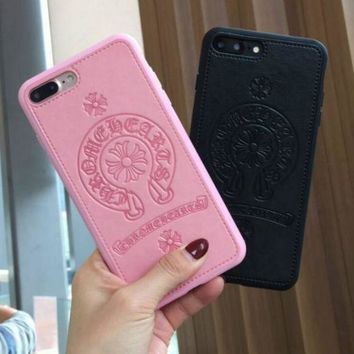 """Gotopfashion Chrome Hearts iPhone Phone Cover Case For iphone 6 6s 6plus 6s-plus 7 7plus Soft silicone iphone case+ best gift"""""""