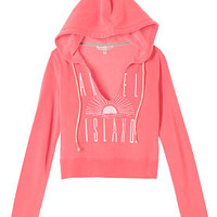 V-neck Crop Hoodie - Fleece - Victoria's Secret