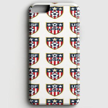 Usa Soccer Ball World Cup iPhone 8 Case