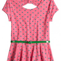 Polka Dot Top With Belt | Girls Tops & Tees Clothes | Shop Justice