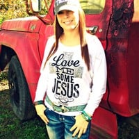 Love Me Some Jesus Tee