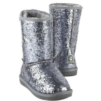 BEARPAW CHERI PEWTER WOMENS PULL ON Size 7M