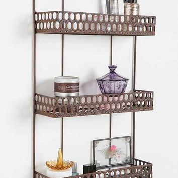 Triple-Decker Shelf-