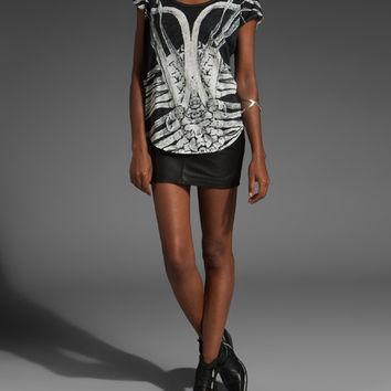 Sass and Bide Silver Wings Tee