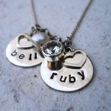 Charm Necklace Charm Pendany Person.. on Luulla