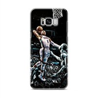 Russell Westbrook paint dunk Samsung Galaxy S8 | Galaxy S8 Plus Case