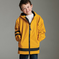 SALE!! CUSTOM Youth Monogram Rain Jackets -- Keep your child warm and dry in these stylish rain coats!