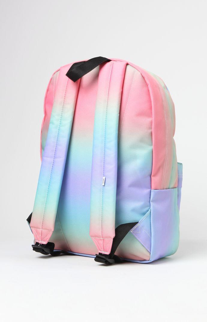 ce400543cc9ce5 Vans Realm Tie-Dye School Backpack - Womens Backpack - Rainbow Ab - One