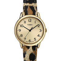 Timex Watch, Women's Leopard Pattern Leather Strap 30mm T2N966UM - BLACK FRIDAY SPECIALS - Jewelry & Watches - Macy's
