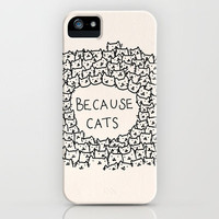 Because cats iPhone Case by Kitten Rain | Society6