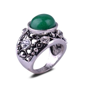 Shiny Gift Jewelry New Arrival Stylish Natural Hollow Out Ring [27793719316]