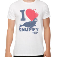 Shark Week I (Heart) Snuffy T-Shirt