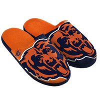 Chicago Bears  Official NFL Split Color Slide Men's Slippers