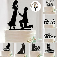 Wedding Decoration Cake Topper For Wedding Cake